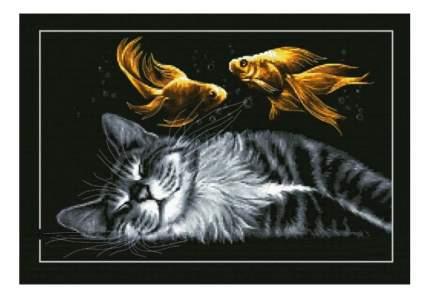 Вышивка для детей Белоснежка Золотые сны