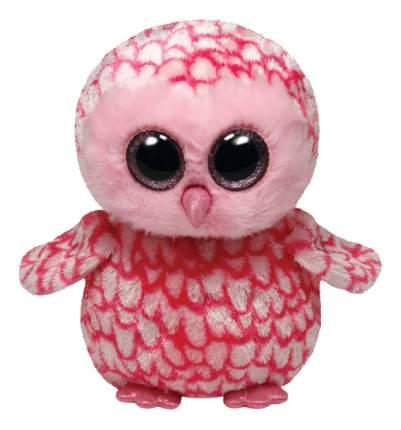 Мягкая игрушка TY Beanie Boos Совенок (розовый) Pinky 25 см