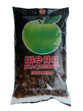"""Щепа яблоневая Грилькофф """"Премиум"""" для копчения 250 гр."""