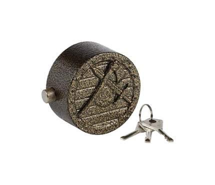 Замок навесной, дисковый механизм секрета, ВС2-11