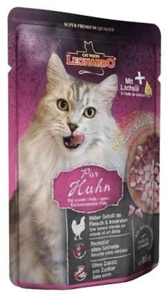 Влажный корм для кошек Leonardo Finest Selection, курица, 85г