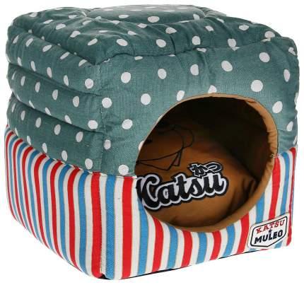 Домик для кошек Katsu Мулео S голубой