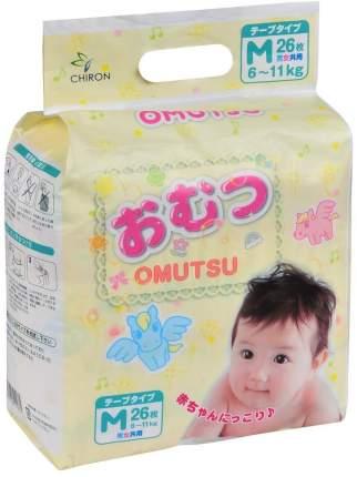 Подгузники Omutsu M (6-11 кг), 26 шт.