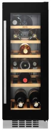 Встраиваемый винный шкаф AEG SWB63001DG Black