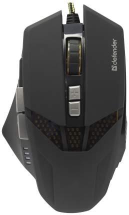 Игровая мышь Defender Warhead GM-1780 Black (52780)