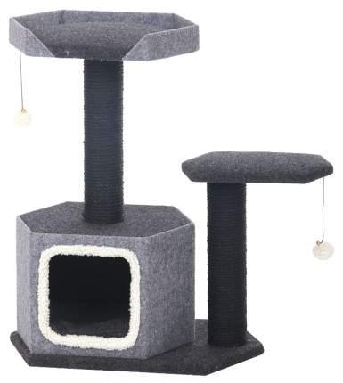 Комплекс для кошек Triol CT30 3ур. 77см 60см