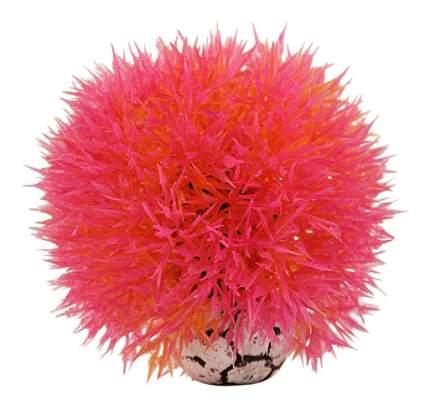 Laguna Растение для аквариума Шар, розовый,9 см