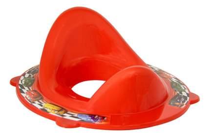 Накладка на унитаз М-пластика Дисней Тачки красный