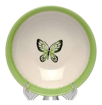 Тарелка FIORETTA Summer joy green 18 см