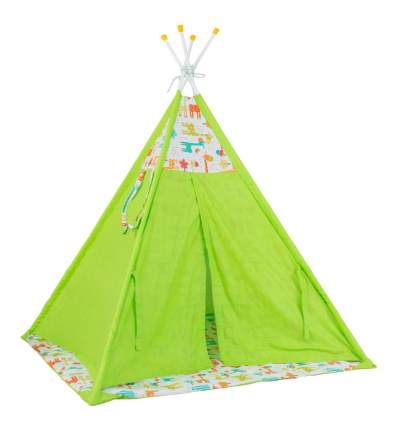 Игровая палатка Polini Жираф, зеленый