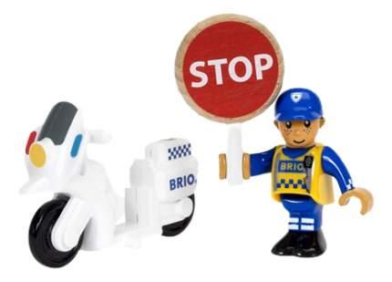 Полицейский Мотоцикл Brio 33861