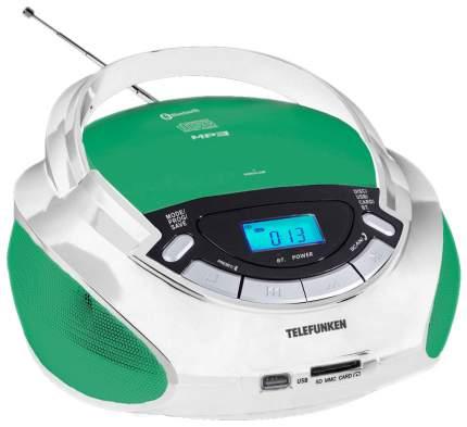 Магнитола TELEFUNKEN TF-CSRP3492B Белый, светло-зеленый