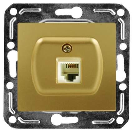 Розетка компьютерная одноместная Volsten V01-16-C11-M
