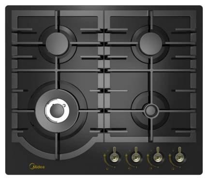 Встраиваемая варочная панель газовая Midea MG696TRGB-B Black
