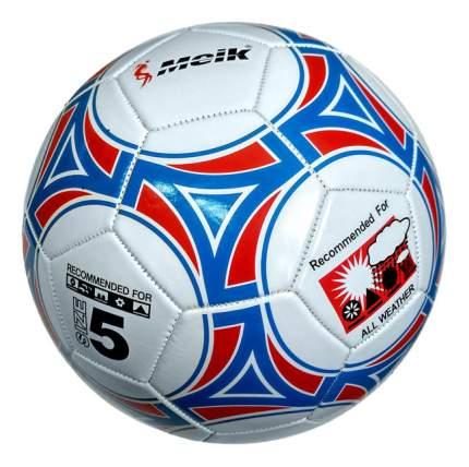 Футбольный мяч Meik R18019 №5 white/blue/red