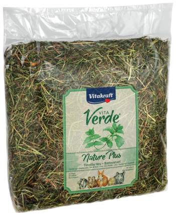 Сено для грызунов Vitakraft VITA VERDE с крапивой 0.5 кг 1 шт