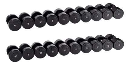 Гантельный ряд Profifit Power от 27,5 до 50 кг
