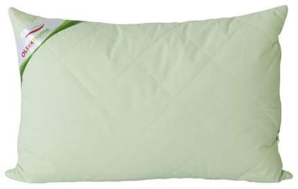 Подушка с бамбуковым волокном и съемным чехлом 40х60 фисташковая Ol-tex