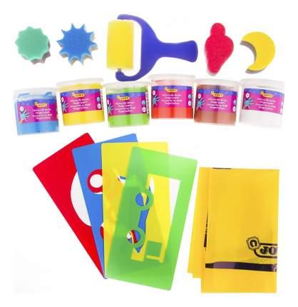 Набор красок и аксессуаров для рисования руками в чемодане JOVI 566