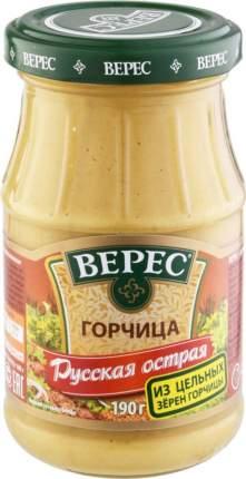 Горчица русская Верес острая 190 г