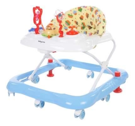 Ходунки детские Baby Care Mario GL-800S белый/красный