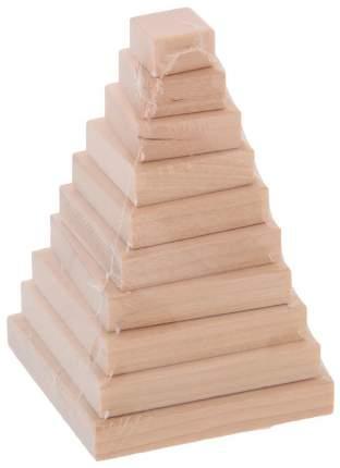Развивающая игрушка Пелси Пирамидка Квадрат и606