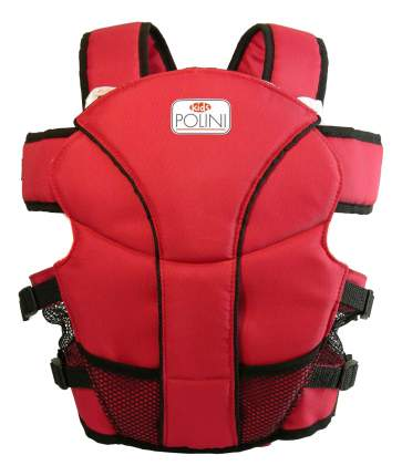 Рюкзак кенгуру Polini Люкс красный