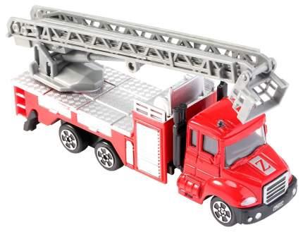 Машина Gratwest Металлическая пожарная машина Super Truck CF16-F1 1:64