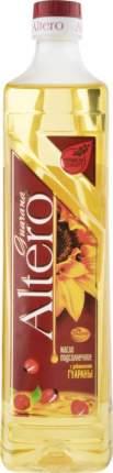 Масло подсолнечное рафинированное Altero вымороженное с добавлением гуараны 810 мл