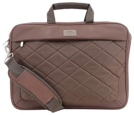"""Сумка для ноутбука 16"""" Sumdex PON-322BR коричневая"""