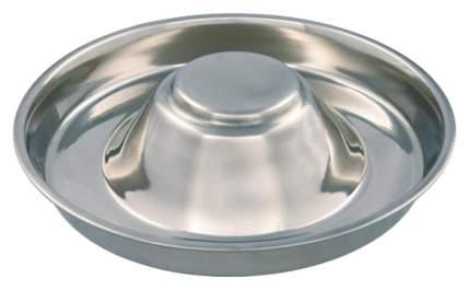 Одинарная миска для собак TRIXIE, сталь, серебристый, 1.4 л