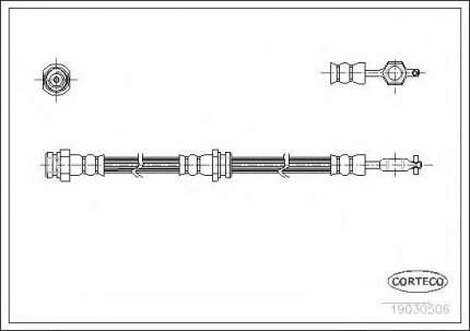 Шланг тормозной системы Corteco 19030506