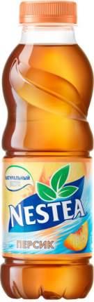 Холодный чай черный Nestea персик 0.5 л