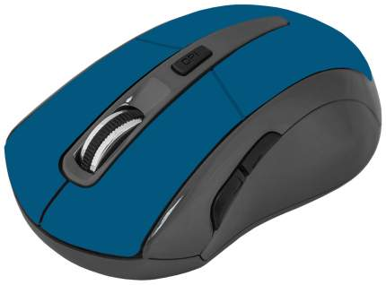 Беспроводная мышь Defender Accura MM-965 Cyan/Black (52967)