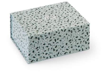 Маленькая подарочная коробка с паттерном «Мухи и семечки»
