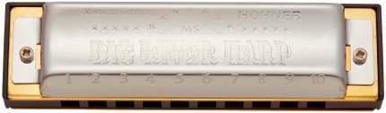 Губная гармоника диатоническая HOHNER Big river harp 590/20 Bb