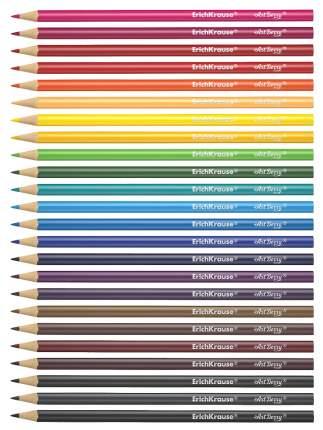 Карандаши цветные Erich Krause 24 сolor pencils
