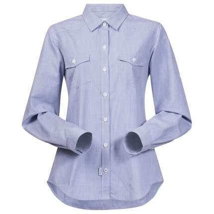 Рубашка Bergans Justoy Lady Shirt LS, chambray blue, S INT