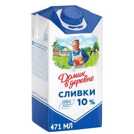 Сливки Домик в деревне 10% 480 г