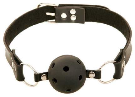 Кляп-шар Pipedream Breathable Ball Gag с отверстиями для дыхания черный