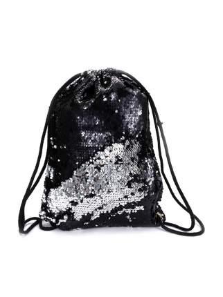Мешок для обуви МихиМихи с пайетками Bright Dreams черный