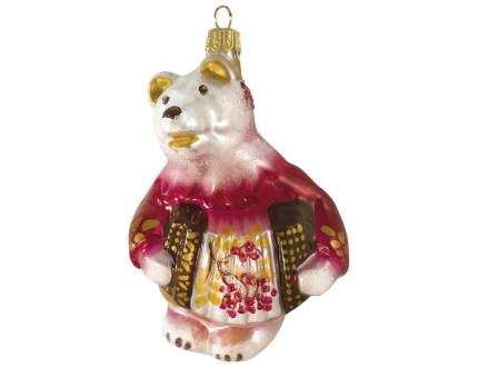 Елочная игрушка Ариэль зимняя ягода 13 см 1 шт 612.3-ариэль