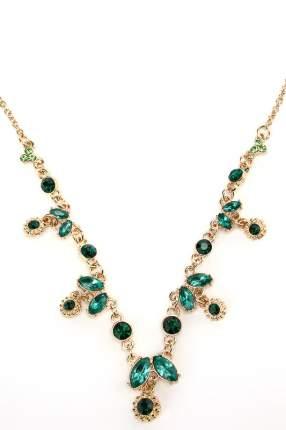 Шейное украшение женское Diva 10759097 зеленое/золотистое