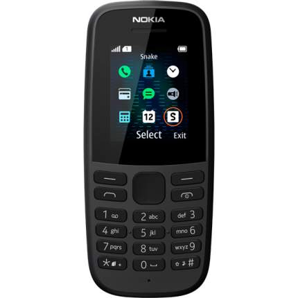 Мобильный телефон Nokia 105SS (ТА-1203) Black