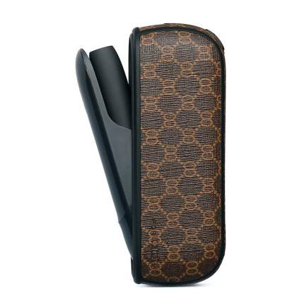 Темный дизайнерский чехол для IQOS 3 Gucci
