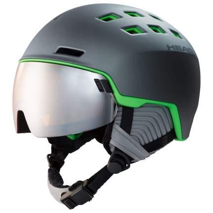 Горнолыжный шлем Head Radar 2020 grey/green, M/L