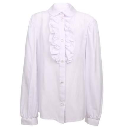 Блузка Смена, цв. белый, 128 р-р