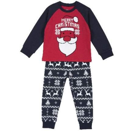 Пижама Chicco Merry Christmas для мальчиков р.128 цв.красный
