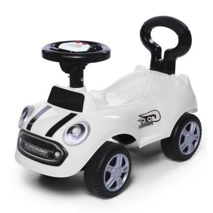 Каталка детская Baby Care Speedrunner музыкальный руль, цвет белый