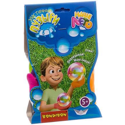 """Эластичные мыльные пузыри """"Наше Лето"""", 2 перчатки, 80 мл, арт. 1428D"""